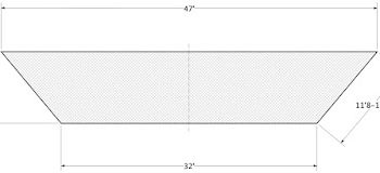 Custom Nylon Netting Panels and Unique Nets Built From #36 X 1-3/4″ DuPont® Nylon