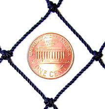 "#12 x 1"" Tarred Nylon Netting"