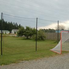 Lacrosse Barrier Netting