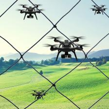 Drone U.A.V. Netting