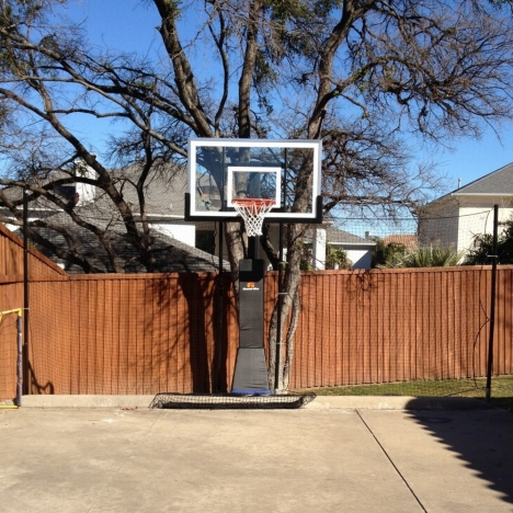Custom Basketball Barrier And Backstop Nets