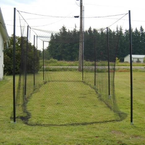 Batting Cage Frame - Baseball Batting Cages, Batting Cage Frame, Indoor Batting Cages